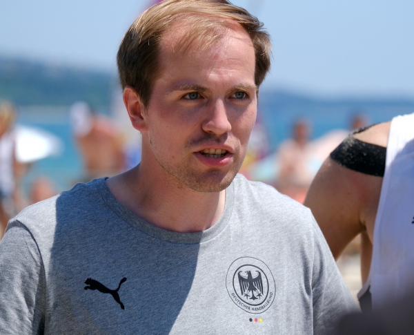#Nachgefragt: Jugend-Nationaltrainer Marten Franke über das Abschneiden bei der Beachhandball-EM